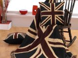 Berwurf Flagge Union Jack 100 Reine Baumwolle Homescapes for proportions 1400 X 1750