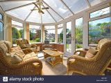 Wintergarten Mit Korbmbel Stockfoto Bild 66100576 Alamy in sizing 1300 X 960